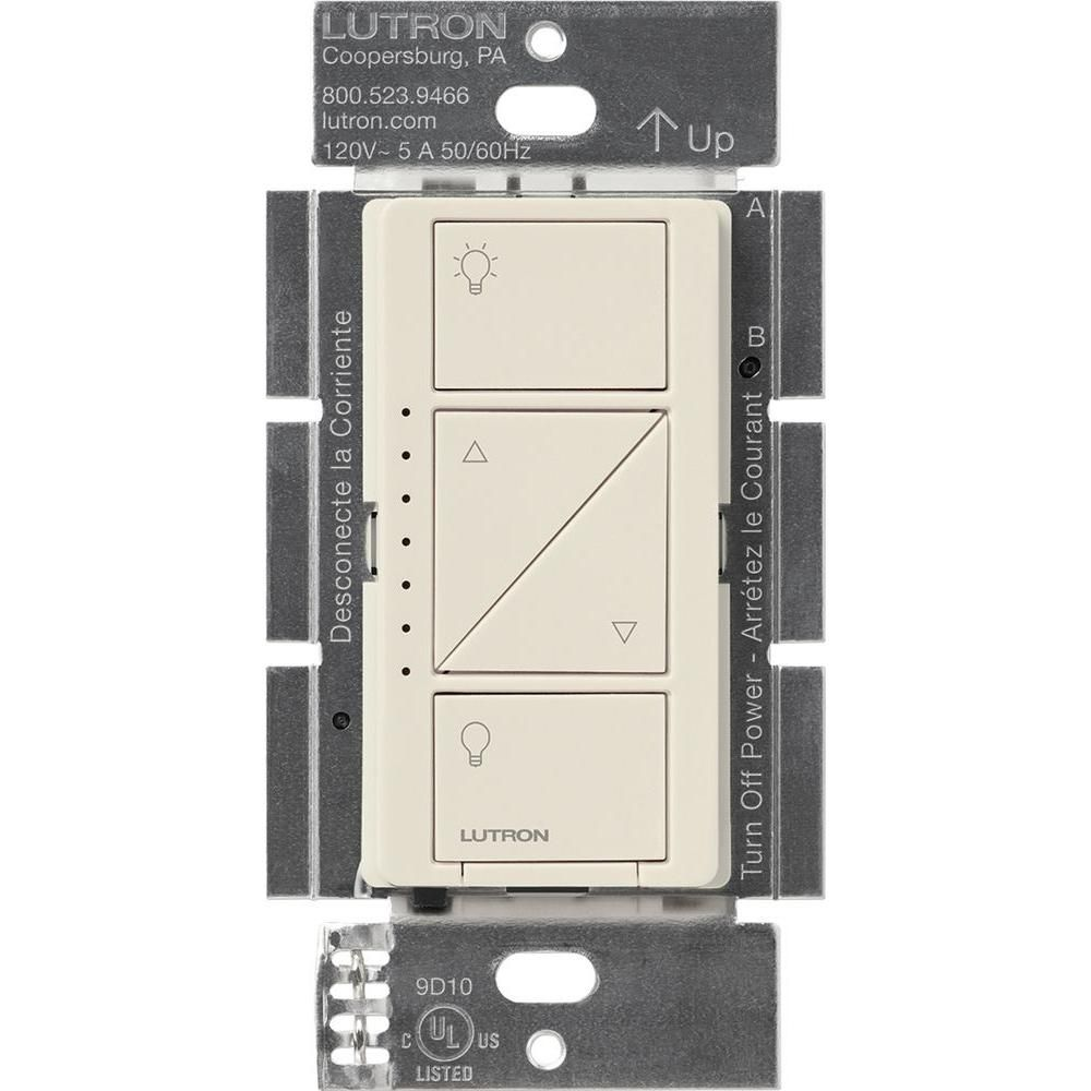 Lutron Caséta Wireless In-Wall Dimmer, Light Almond