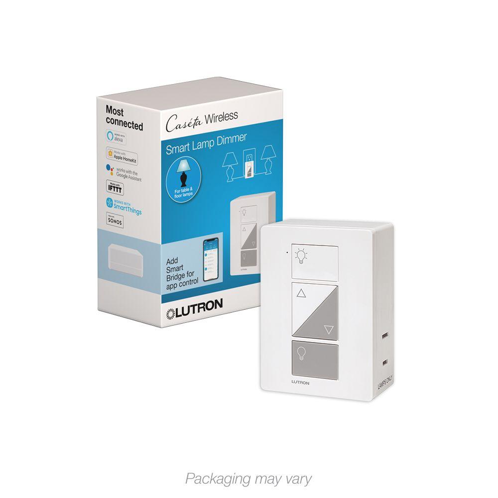 Lutron Caseta Wireless Smart Lighting Lamp Dimmer
