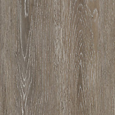 6 in. x 36 in. Brushed Oak Taupe Luxury Vinyl Plank Flooring (Sample)