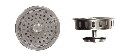 Premium Basket Strainer - Similar to Kohler Strainer. Tailpiece Not Included. 60 Pack