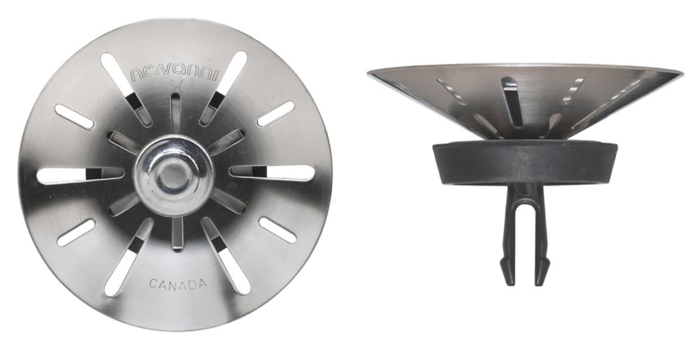 Conical With Patented Two-Step Technology. T304 SS, Two-Step Closure, Trivalent Zinc Coated Lockn...
