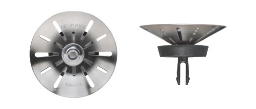 Conical With Patented Two-Step Technology. T304 SS, Two-Step Closure, Replacement Basket for 41-0434-B 31-0512 in Canada