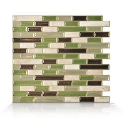 Smart Tiles 10,06 Inch. X 10 Inch. Peel And Stick Eco Mosaik
