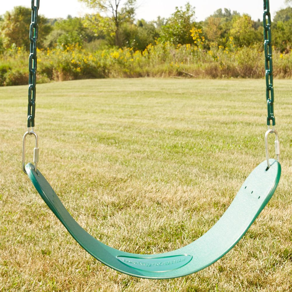 Swing Seat with Chain in Green