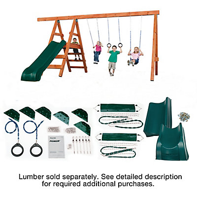 kodiak super it products n playground zoom best kit swing slide do