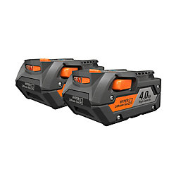 RIDGID 18V 4.0Ah Lithium-Ion Battery (2-Pack)