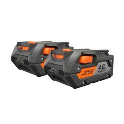 RIDGID Batterie 4 A, 18 V, ensemble de 2