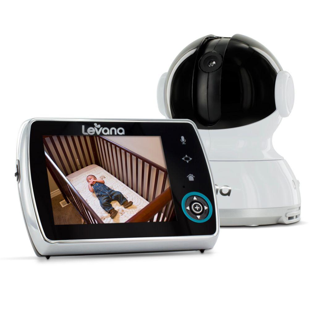 LEVANA<sup>®</sup> Keera� Moniteur vidéo bébé numérique 3,5po à pivotement horizontal/ inclinaiso...