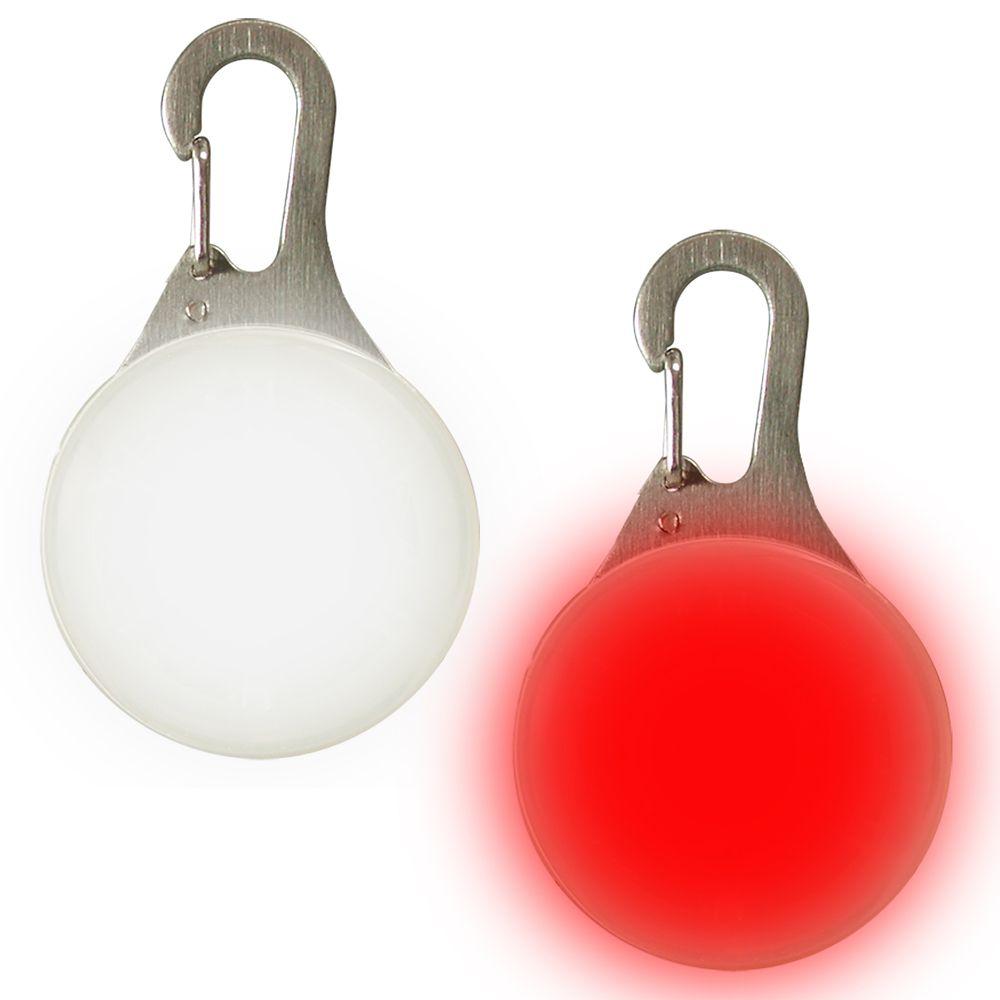 SpotLit, lot de 2 rouge et blanc