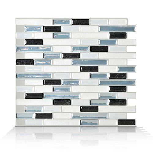 Smart Tiles 10,20 Inch. X 9,10 Inch. Peel And Stick Brina Mosaik