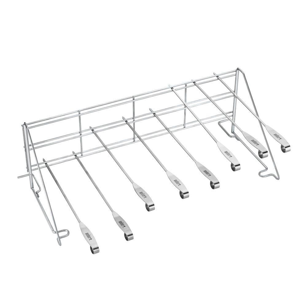 Grill Rack and Skewer Set
