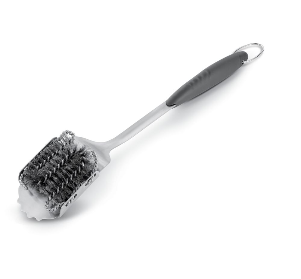 Stainless Steel Grill Brush with Replaceable Head