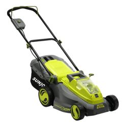 Sun Joe iON16LM 16-inch 40V Cordless Battery Push Mower with Brushless Motor