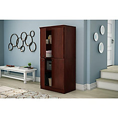 Morgan Collection Storage Cabinet in Royal Cherry