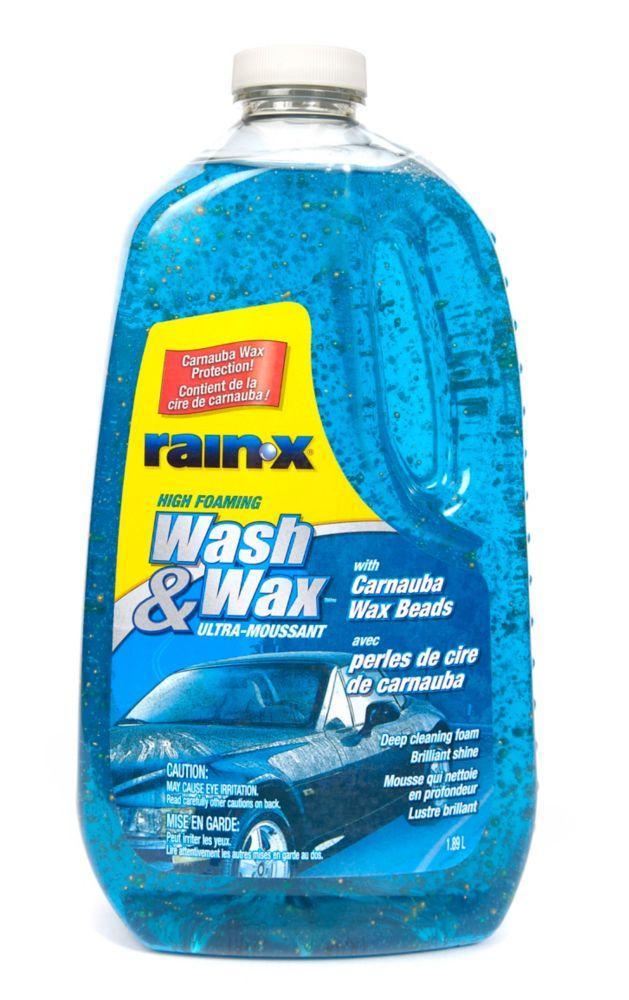 Détergent pour l'auto Wash & Wax