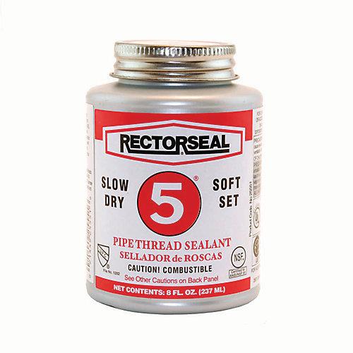 #5 par RectorSeal USA mastic pour filetage de tuyauterie lente-sec (dans un pack entrepreneur de 6)