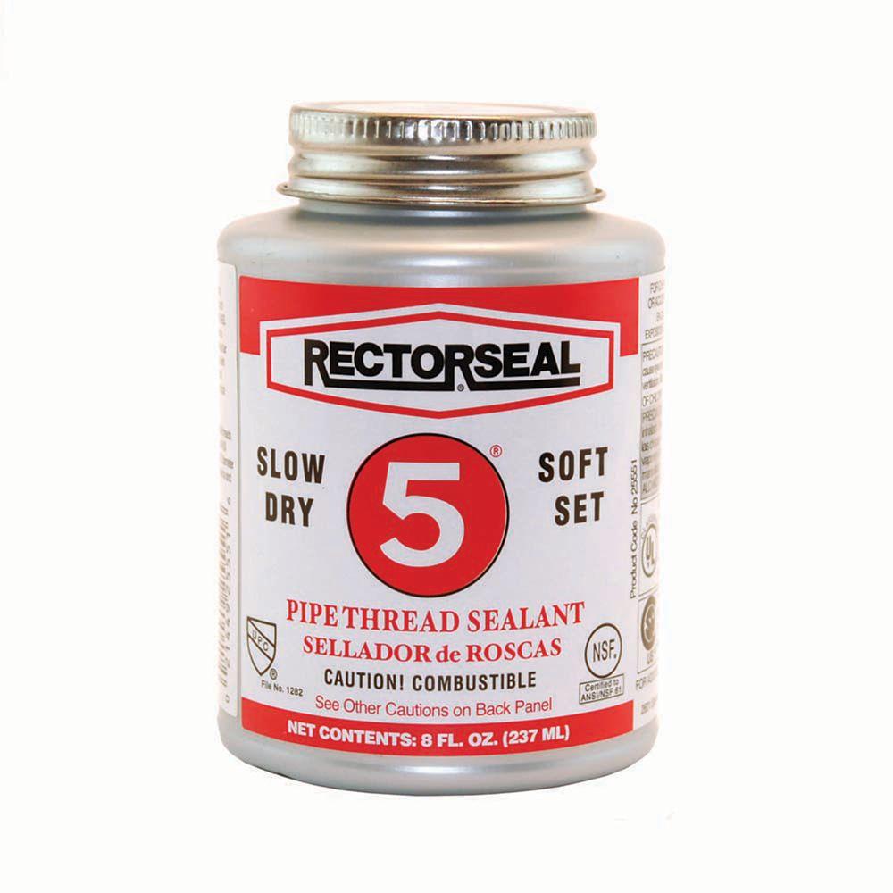 #5 par RectorSeal USA mastic pour filetage de tuyauterie lente-sec (dans un pack entrepreneur de ...