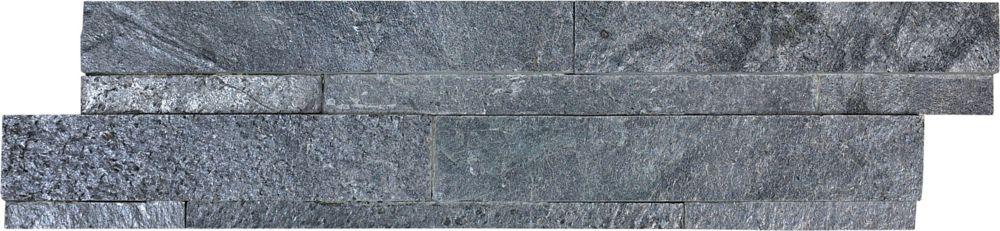 6-Inch x 24-Inch Ledger Stone in  Astro Silver (6 sq. ft./case)
