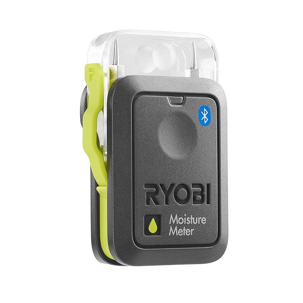 RYOBI PHONE WORKS Moisture Meter with Bluetooth