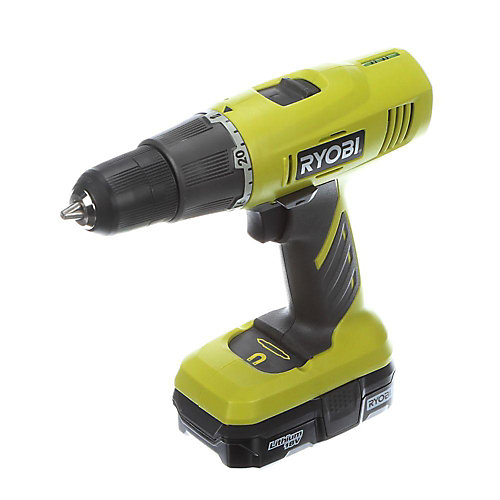 18V ONE+ Lithium Ion Cordless Drill/Driver Kit with 1.3 Ah Battery and Charger