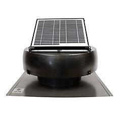 10 Watt Solar Attic Fan Ventilates up to 1250 Sq. Feet.