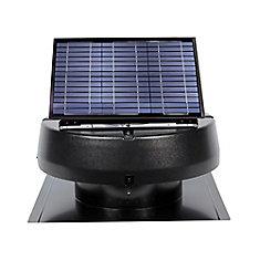 20 Watt Solar Attic Fan Ventilates up to 2400 Sq. Feet.