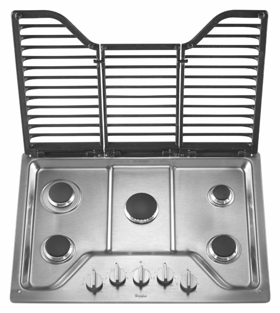 Maytag 30 Inch Five Burner Gas Cooktop With EZ 2 Lift