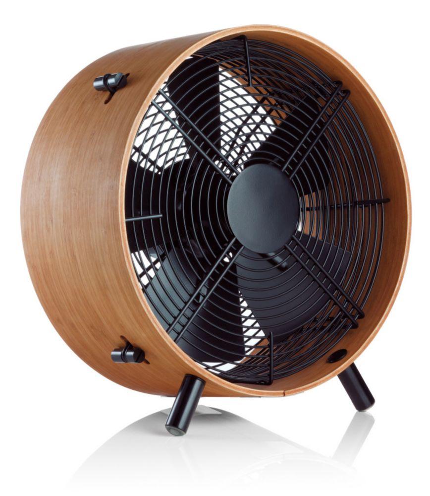 OTTO Ventilateur de plancher fait du vent! bois de Bambou