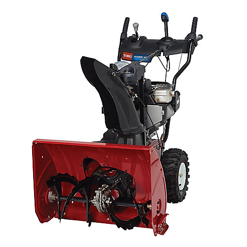 Power Max 826 OTE 2-Stage Electric Start Gas Snow Blower with 26-inch Clearing Width