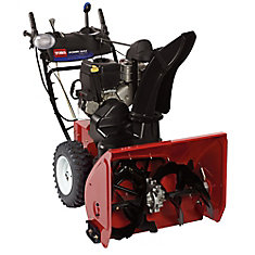 Power Max HD 1128 OHXE Two-Stage Electric Start Gas Snow Blower with 28-Inch Clearing Width