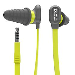 RYOBI Phone Works Noise Suppressing Earphones with Microphone