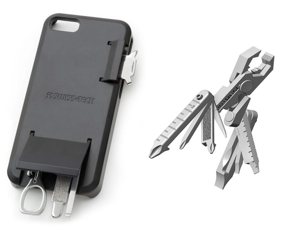Boîtier d'outil polyvalent pour iPhone & Micro Max 19-en-1
