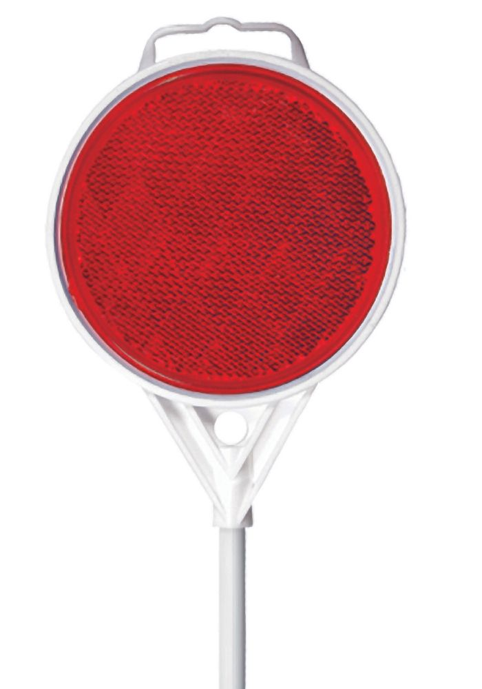"""Driveway Marker - Red 48"""""""