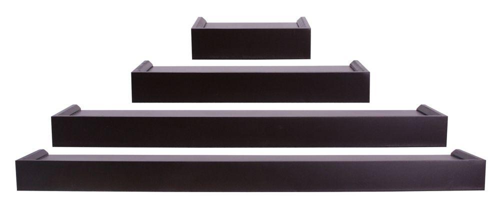 nexxt FN07780-7 Vertigo Series Java Ledge Quadruple Set