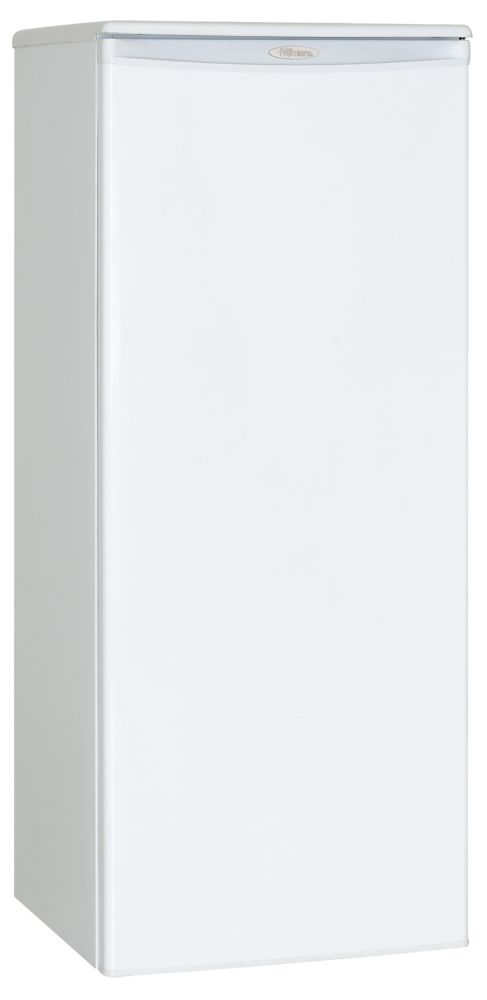 Premiere 8.5 Cu. Ft. Manual Defrost Upright Freezer with Reversible Door in White (Energy Star<su...