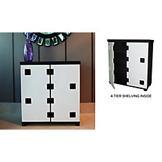 Vdara-Cabinet-Black/White