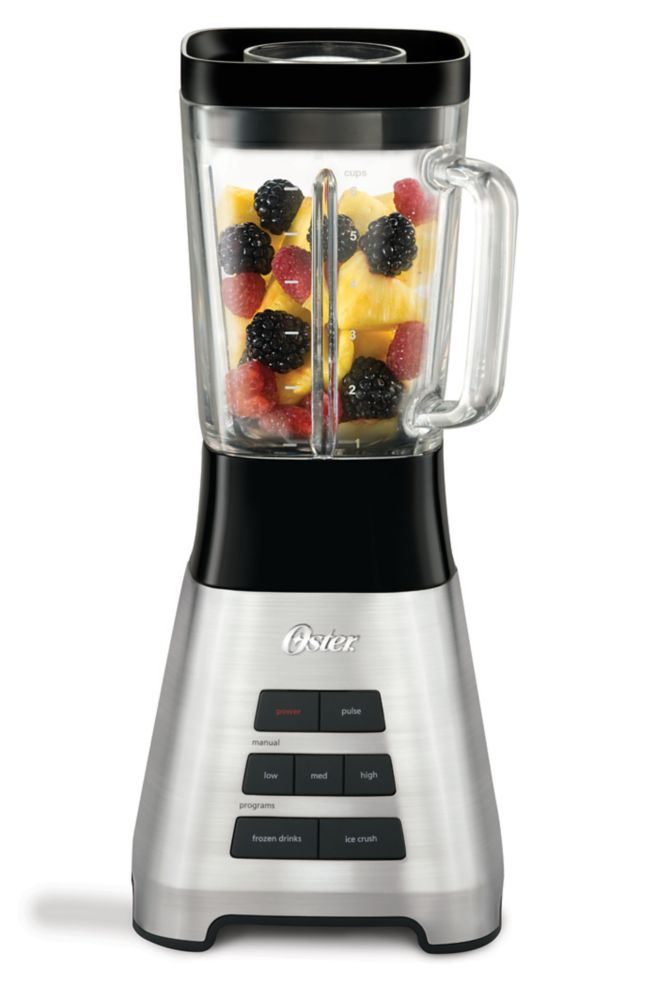 700 Peak Watt 3 Speed Stand Blender (Stainless Steel)