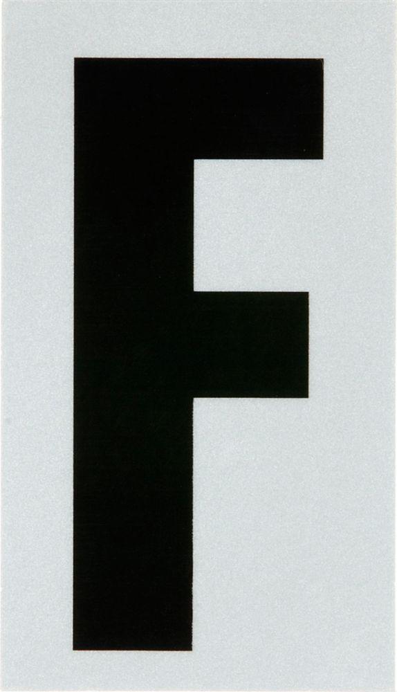 3 Inch Black & Silver Reflec Mylar F