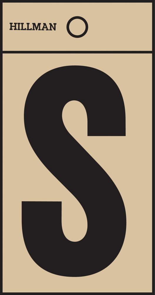 2 Inch Black & Gold Mylar Sticker S
