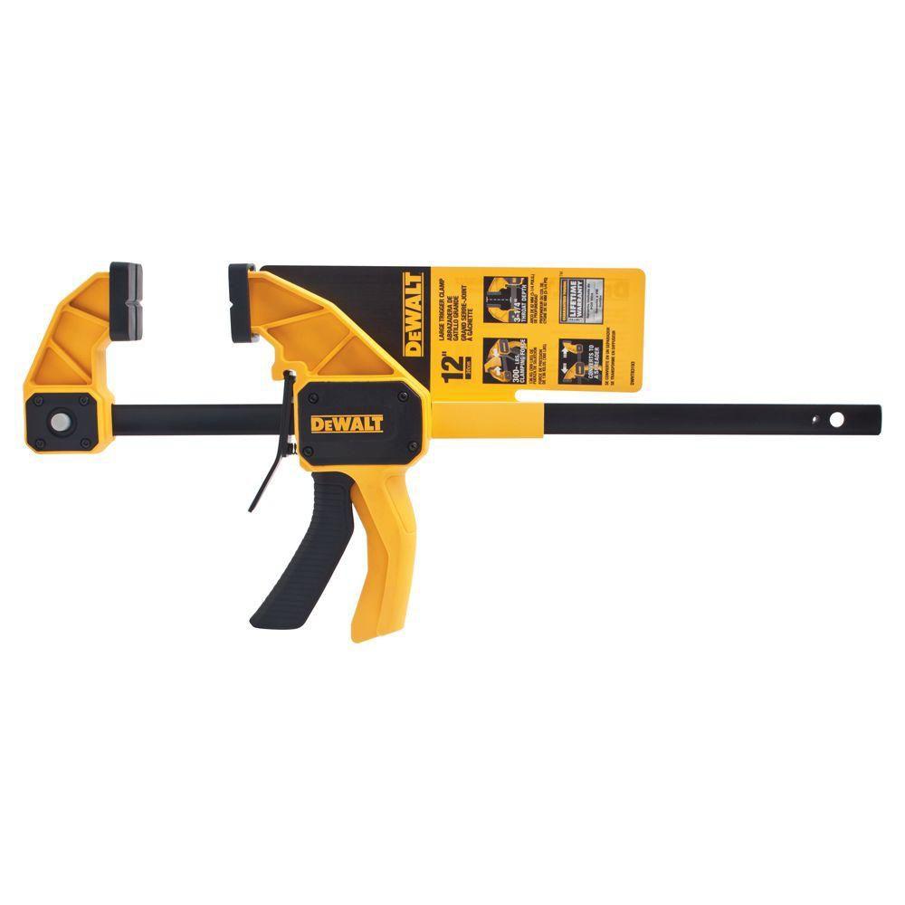 DEWALT 12-Inch Large Trigger Clamp