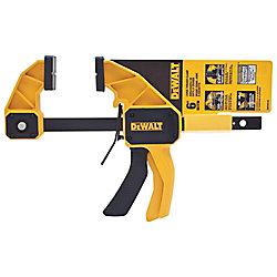 DEWALT 6-inch 300 lb. Trigger Clamp w/3.75-inch Throat Depth
