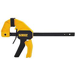 DEWALT 6-inch 100 lb. Trigger Clamp w/2.43-inch Throat Depth