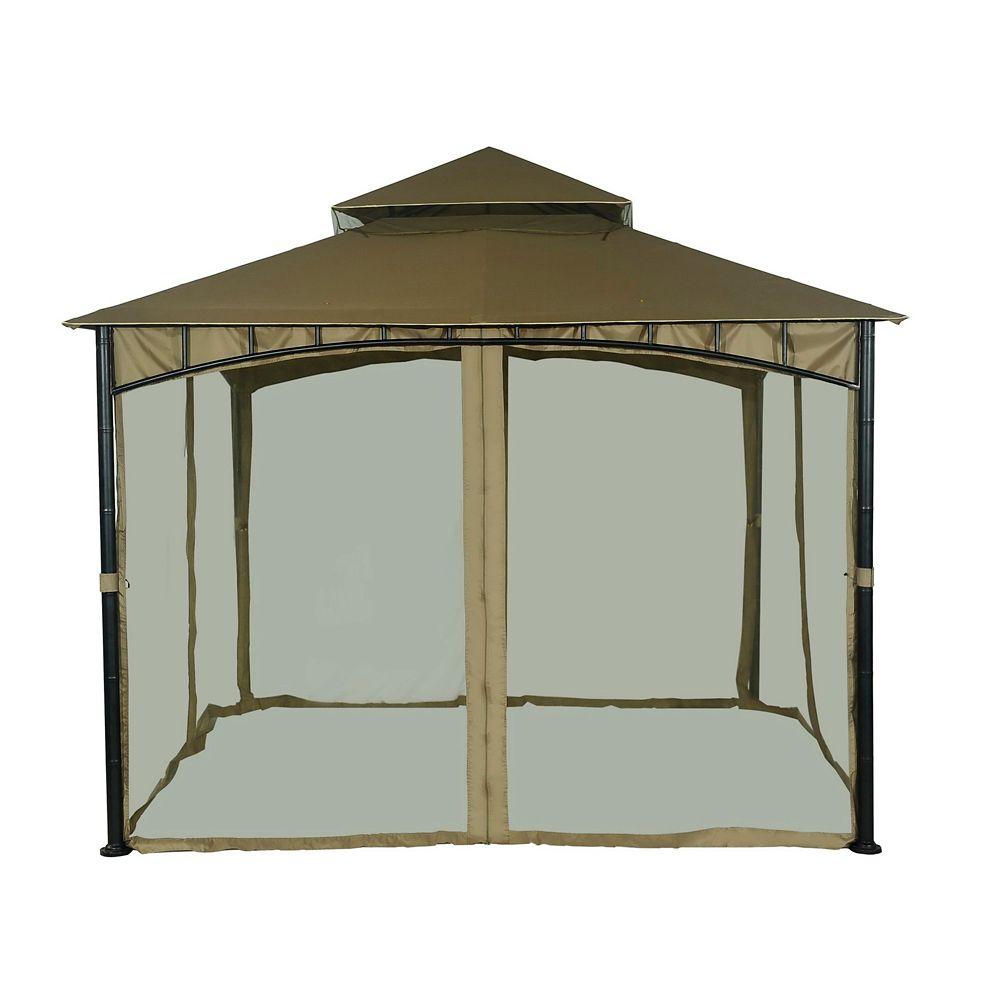 121-inch x 80-inch Bamboo Gazebo Netting