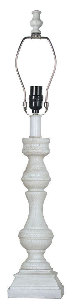 Base de lampe de table à balustre