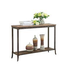 !nspire Trenton-Rec. Console Table-Distressed Pine