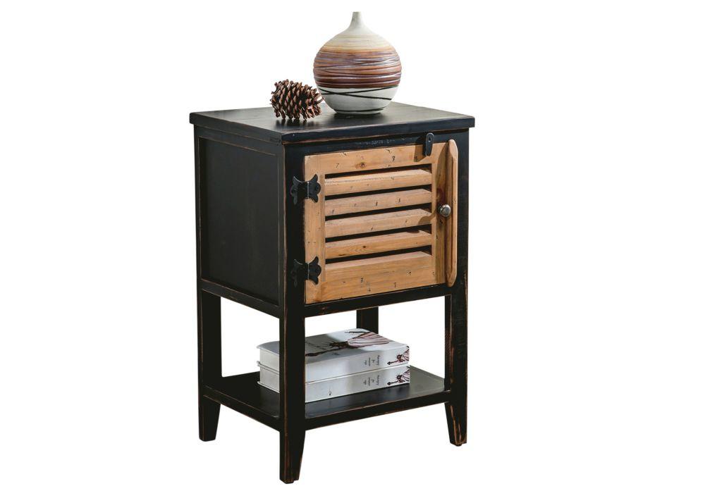 Shelburn-table d'appoint-noir