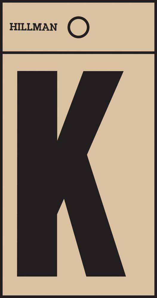 2 Inch Black & Gold Mylar Sticker K