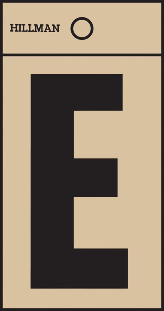 2 Inch Black & Gold Mylar Sticker E