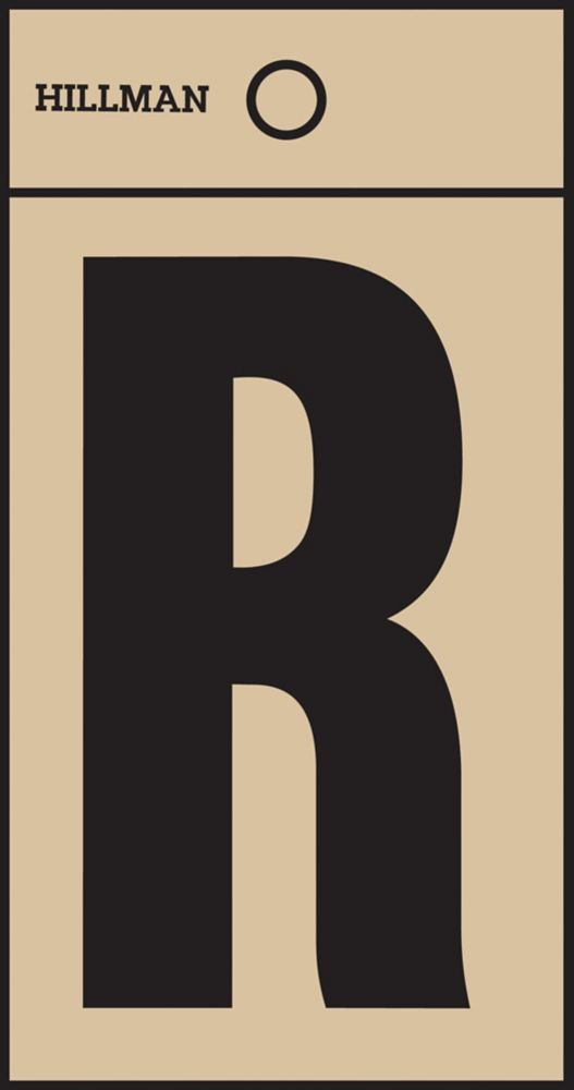 2 Inch Black & Gold Mylar Sticker R