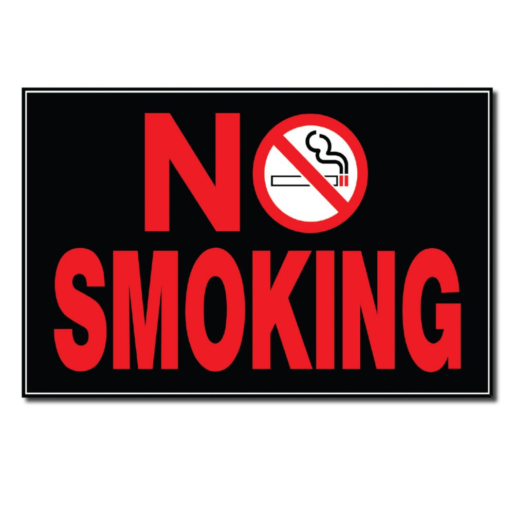 8 X 12 Sign - No Smoking